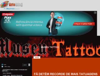 museutattoo.arteblog.com.br screenshot