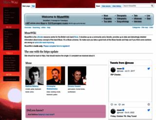 musewiki.org screenshot