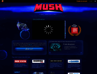 mush.twinoid.com screenshot