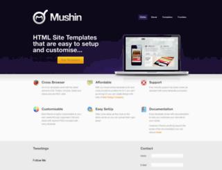 mushindesign.co.uk screenshot