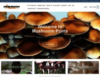 mushroomprints.com screenshot