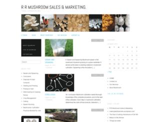mushroomsales.wordpress.com screenshot
