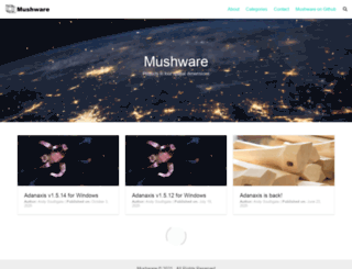 mushware.com screenshot