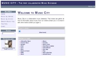 music-city.org screenshot