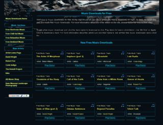 music-downloads-for-free.com screenshot
