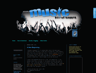 music-for-the-masses-alfablue.blogspot.com screenshot
