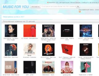 music-for-you.ru screenshot