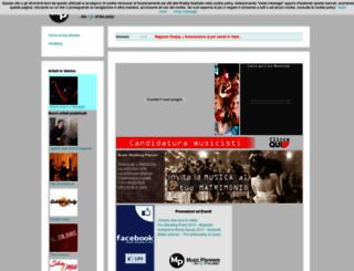music-planners.com screenshot