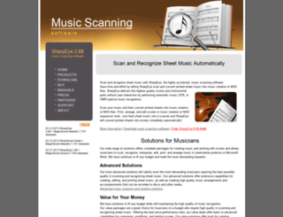 music-scanning.com screenshot
