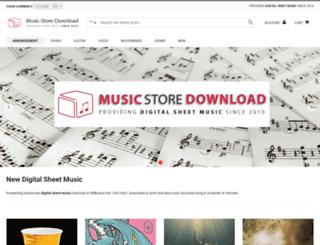 music-store-download.com screenshot