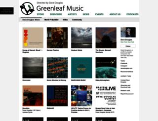 music.davedouglas.com screenshot