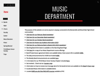 music.fenton100.org screenshot