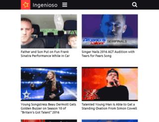 music.ingenioso.tv screenshot
