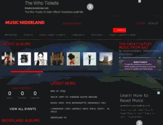 music.nederland-fm.com screenshot