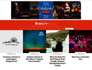 music.newcity.com screenshot