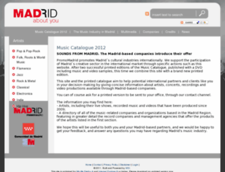 music.promomadrid.com screenshot