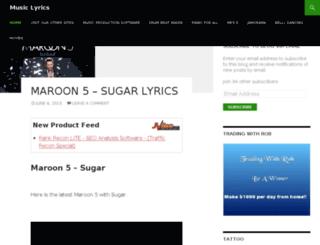 music.robdasha.com screenshot