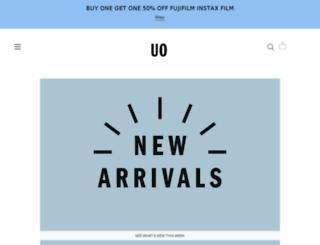 music.urbanoutfitters.com screenshot