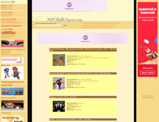 music.vsego.ru screenshot