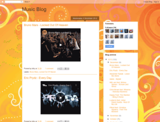 music4everluv.blogspot.com screenshot