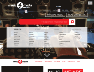 music4media.gr screenshot