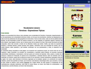 musica-llanera.com screenshot