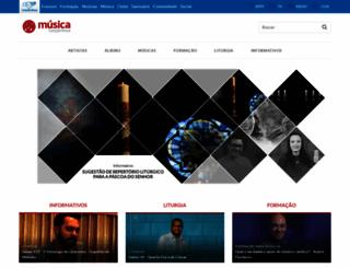 musica.cancaonova.com screenshot