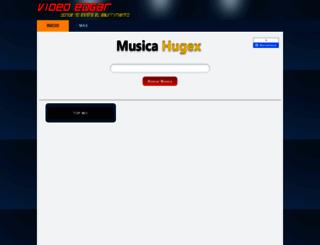 musica.hugex.net screenshot