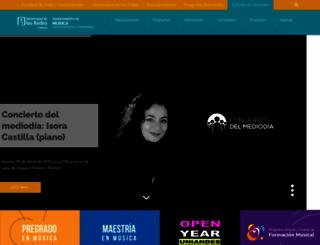 musica.uniandes.edu.co screenshot