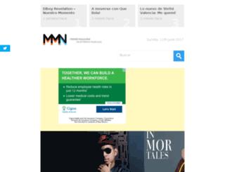 musica2012nueva.com screenshot