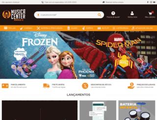 musicacenter.com.br screenshot
