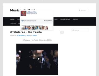 musicadehoy.net screenshot