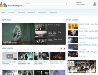 musicairplay.net screenshot