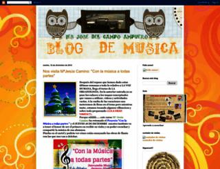 musicajosedelcampo.blogspot.com screenshot
