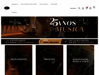 musicalcentersom.com.br screenshot