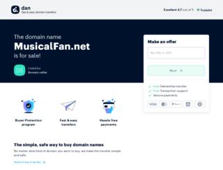 musicalfan.net screenshot