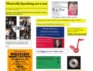 musicallyspeaking.mvn.net screenshot