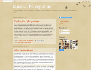musicalperceptions.blogspot.com screenshot