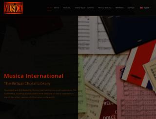 musicanet.org screenshot