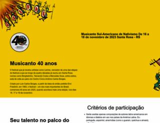 musicanto.com.br screenshot