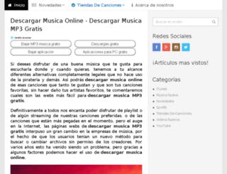 musicaonline-gratis.com screenshot