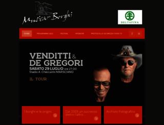 musicaperiborghi.it screenshot