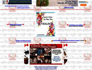 musicaperuana.com screenshot