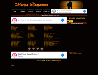 musicaromantica.com.mx screenshot