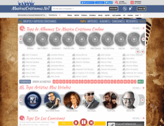 musicascristianas.net screenshot