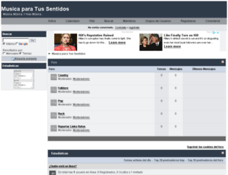 musicasentidos.foroactivo.net screenshot