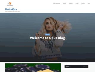 musicasfera.com screenshot