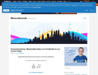 musicasounds.myblog.it screenshot