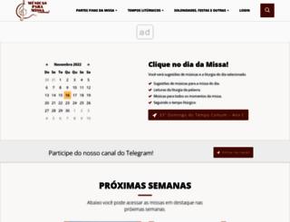 musicasparamissa.com.br screenshot