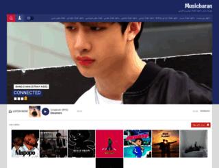 musicbaran.ir screenshot